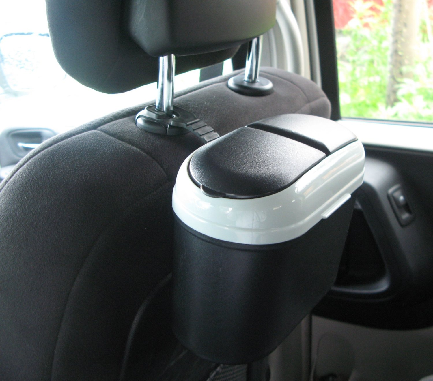 Hook Small Trash Can For Car